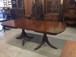Modern Mahogany Dining Room Furniture Sets Best Of 1940s Duncan Phyfe Double Pedestal Table
