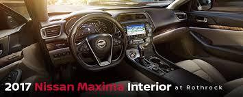 2017 Nissan Maxima Interior Rothrock Motors