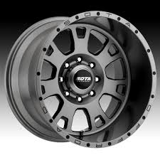 SOTA Offroad Brawl Anthra-Kote Custom Truck Wheels Rims - SOTA ... Winter Tires On The Off Road Truck Wheel In Deep Snow Close Up Fuel Offroad Vs Niche Wheels Youtube Sota Awol 22x12 Rim Size 6x135 Bolt Pattern China 44 158j 179j New Offroad Alinum Alloy How To Pick The Right Wheelfire Manufactures Most Advanced Offroad Wheels Light 1510j 1610j Rims Predator By Black Rhino And Product Release At Sema 16 Konig Counrsteer Set Of Four Fn Scar Death Metal Custom