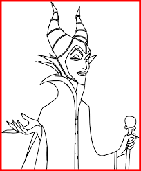 Unbelievable Elegant Disney Maleficent Coloring Pages General Sleeping Beauty Pict Of Villains Concept And Inspiration