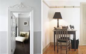 walls grey trim