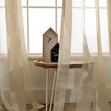 gjxy transparent gardinen jacquard voile vorhang blume nähen