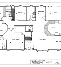 Triple Wide Modular Homes Floor Plans by Manufactured Triple Wide Layouts Manufactured Home Floor