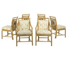 Set Of Six Leather-Bound Rattan Dining Chairs By McGuire Set Of Six Leatherbound Rattan Ding Chairs By Mcguire Eight Brge Mogsen For Sale At 1stdibs Vintage Bentwood Of 3 Stol Kamnik Cane And Rattan Fniture Five Shop Provence Oh0589 Outdoor Patio Wicker With Arms Teva Bora 2 Verona Pair Garden Fniture Brown Muestra Natural Teak Wood Woven Chair Zin Home Hospality Kenya Mcombo Poolside Cversation C Capris And Ottomans Sc753 Weathered Gray