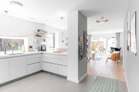 b1 kommunikative und helle bulthaup küche in u form