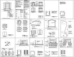 8x12 Storage Shed Blueprints by Sheds Plans Online Guide Gable Shed Plans 8x10