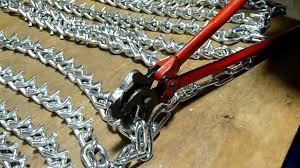 100 Truck Tire Chains For Sale Repair Tool Closing Hooks Chaincom YouTube