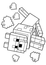 Minecraft Coloring Pages For Kids Also Nice Color