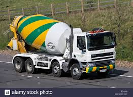100 Concrete Truck Delivery Tarmac Daf New Concrete Delivery Mixer Truck On M25 Motorway Stock