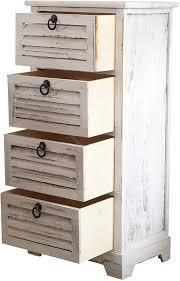 paulownienholz schrank mit 5 schubladen re4885 maße 87 x 40