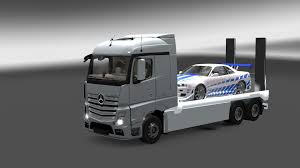 Mercedes Truck: Euro Truck Simulator 2 Mercedes Truck Download