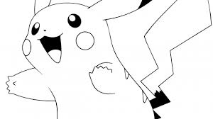 Cool Pikachu Coloring Pages