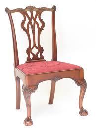 Handmade Philadelphia Chippendale Side Chair By E. Jacobsen ...