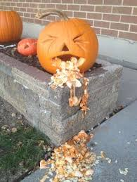 Puking Pumpkin Pattern Free by Hospital Pumpkin Carving Contest Featured Glenrosetx Happy