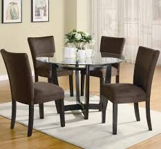Glass Remarkable Dining Room Sets For Small Spaces Piece Counter Height Cross Stripped Ideas Pedestal Side