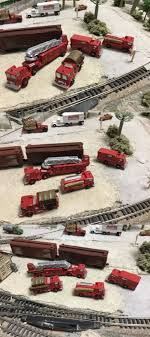 98 N Scale Trucks Other 486 1980S Mack Fire 4 Units Resin And