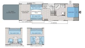 5th Wheel Toy Hauler Floor Plans by 2016 Jayco Octane Zx T31b Model