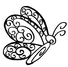 Printable Butterflies Coloring Pages Free Butterfly