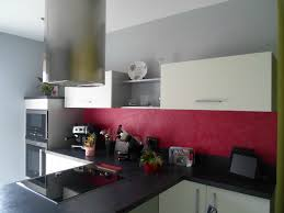 cuisine framboise decoration cuisine couleur framboise