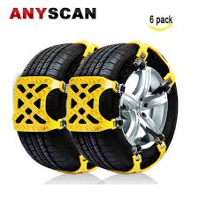 2018 NEWEST VERSION Snow Chain Snow Tire Chains For Truck/SUV ...