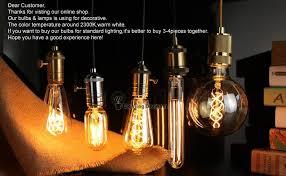 big size g200 vintage edison light bulb incandescent decorative