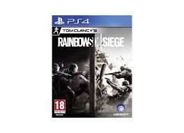 siege de jeux jeux vidéo tom clancy s rainbow six siege playstation 4 ps4 d occasion