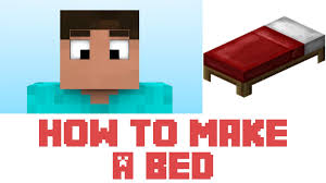 Minecraft Tutorial How To Make A Bed In Minecraft