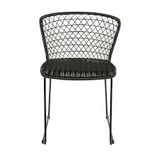 Pair Of Indoor / Outdoor Dining Chairs In Black By BePureHome Comfortcare 5piece Metal Outdoor Ding Set With 52 Round Table T81 Chair Provence Hampton Bay Mix And Match Stack Patio 49 Amazoncom Christopher Knight Home Lala Grey 7 Chairs Of 4 Tivoli Tub Black Merilyn Rope Steel Indoor Beige Washington Coal Click Pc Stainless Steel Teak Modern Rialto Rectangle 6