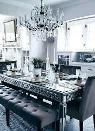 Mirrored Dining Table Sets Outstanding Room Set Trends And Buffet Ideas Mirror