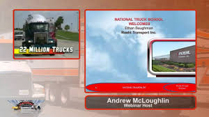 99 Roehl Trucking School Ethan Baughman Of Transport Visits National Truck