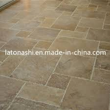 china travertine tile flooring for paving paver