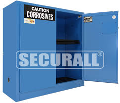 Flammable Safety Cabinet 30 Gallon by Securall Acid Storage Corrosive Storage Acid Storage Cabinets