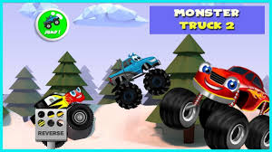 Monster Truck Game For Kids 2 - Racing & Adventure Videos Games For ...
