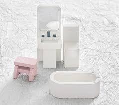 Pottery Barn Bathroom Accessories by Dollhouse Bathroom Set Pottery Barn Kids