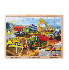 Amazon.com: Melissa & Doug Construction Vehicles Wooden Jigsaw ... Melissa Doug Fire Truck Floor Puzzle Chunky 18pcs Disney Baby Mickey Mouse Friends Wooden 100 Pieces Target And Awesome Overland Park Ks Online Kids Consignment Sale Sound You Are My Everything Yame The Play Room Giant Engine Red Door J643 Ebay And Green Toys Peg Squirts Learning Co Truck Puzzles 1