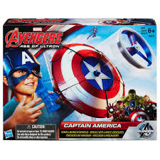 Marvel Avengers Age Of Ultron Captain America Star Launch Shield