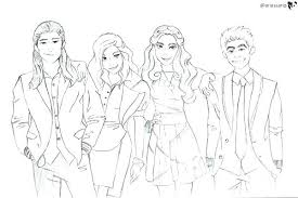 Descendants 2 Coloring Pages Together With Ideas Des