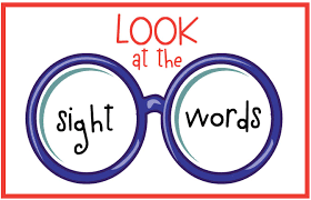 Free Sight Words Clipart