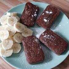 mini bananen schokolanden käsekuchen