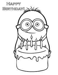 Interesting Design Ideas Minion Coloring Pages To Print