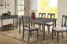 Wallace Gray 5 PC Dining Set