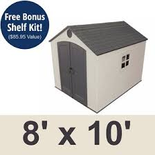shed 6405 sentinel 8 x 10 ft discount outdoor storage shed