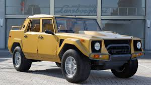 100 Lm Truck Rambo Lambo Lamborghinis First SUV Was The Outrageous LM002