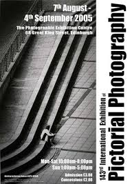 A Poster For The EPS International Exhibition Of Photography Featuring Photo By Norman Robson
