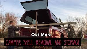 100 Astro Truck Caps Remove Your Camper Shell Canopy By Yourself DIY Easy Storage Rack