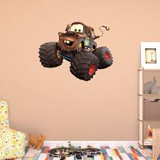 100 Monster Truck Mater Fathead Wall Decal Walmart Iltribunocom
