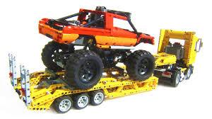 100 Lego Technic Monster Truck LEGO Heavy Transport YouTube