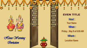 How To Create House Warming Invitation Card In Photoshop Tamil