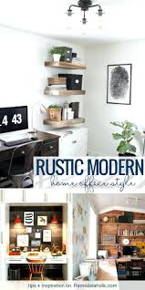 Rustic Modern Office Desk Chair Furniture Home Style