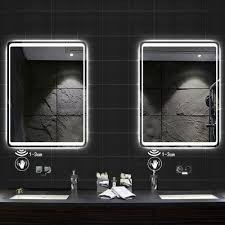 badezimmer spiegel 50 140cm touch infrarot sensor heizung